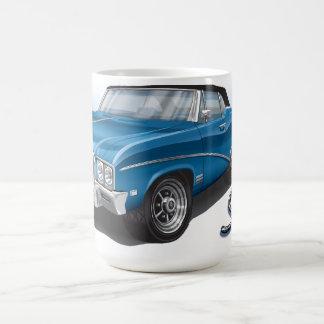 Convertible de 68 Buick Skylark en azul Taza De Café