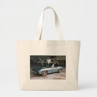 Convertible del Corvette Bolsa Tela Grande