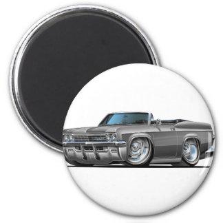 Convertible gris 1965-66 del impala imán redondo 5 cm