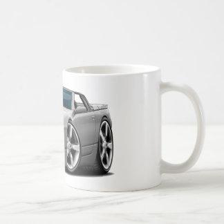 Convertible gris de Nissan 300ZX Tazas