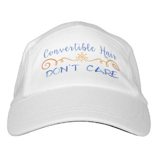 Convertible Hair Don't Care Headsweats Hat
