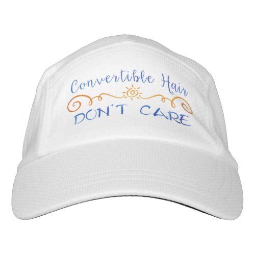 Convertible Hair Dont Care Headsweats Hat
