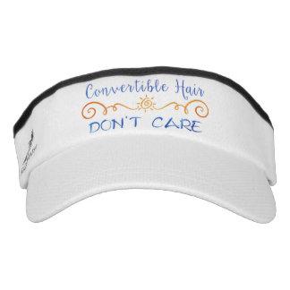Convertible Hair Don't Care Visor