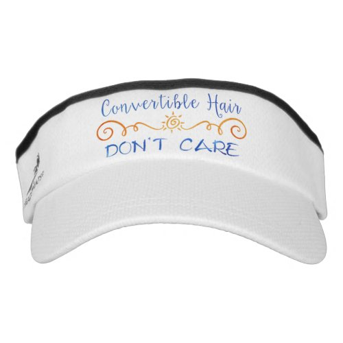 Convertible Hair Dont Care Visor