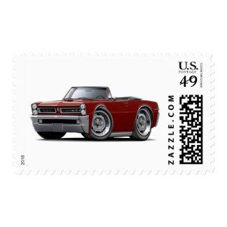 Convertible marrón de 1965 GTO Estampilla