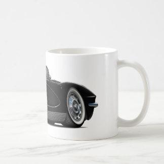Convertible negro 1962 del Corvette Taza De Café