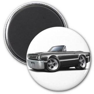 Convertible negro 1966 del belvedere imán redondo 5 cm