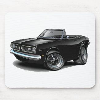 Convertible negro 1967-69 del Barracuda Alfombrillas De Raton