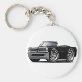 Convertible negro de 1965 GTO Llaveros Personalizados