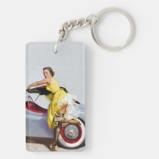 Convertible Pin Up Keychain