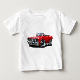 Convertible rojo 1966 de la corona playera de bebé