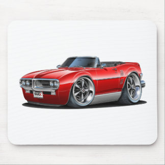 Convertible rojo 1967 de Firebird Tapete De Raton
