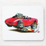 Convertible rojo 1998-2004 del Corvette Tapete De Raton