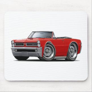 Convertible rojo de 1965 GTO Alfombrilla De Ratones