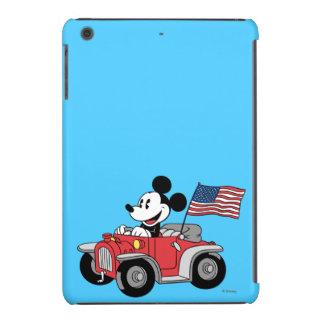 Convertible rojo de Mickey el   del día de fiesta Funda Para iPad Mini