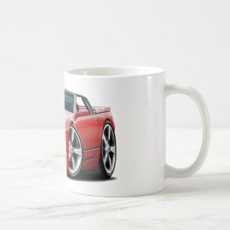 Convertible rojo de Nissan 300ZX Taza De Café
