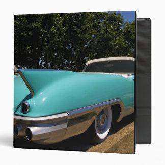 """Convertible verde de Cadillac de Elvis Presley ade Carpeta 1 1/2"""""""