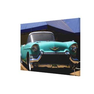 Convertible verde de Cadillac de Elvis Presley ade Impresion En Lona