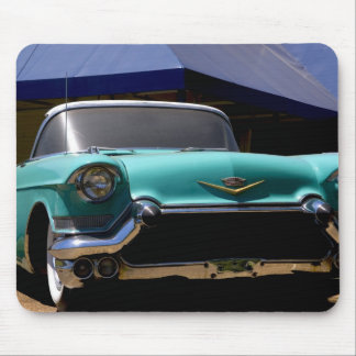 Convertible verde de Cadillac de Elvis Presley ade Tapetes De Raton