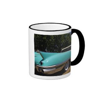 Convertible verde de Cadillac de Elvis Presley ade Taza A Dos Colores