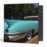"""Convertible verde de Cadillac de Elvis Presley Carpeta 1 1/2"""""""