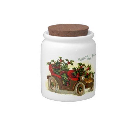 Convertibles del navidad jarra para caramelo