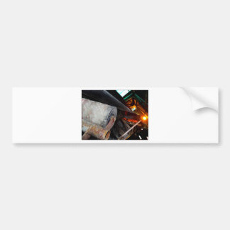 Conveyor and mining gifts 12 car bumper sticker