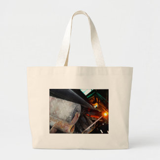 Conveyor and mining gifts 12 large tote bag
