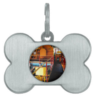 Conveyor and mining gifts 2 pet ID tag