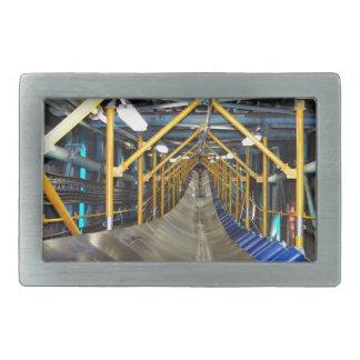 Conveyor and mining gifts 3 rectangular belt buckle