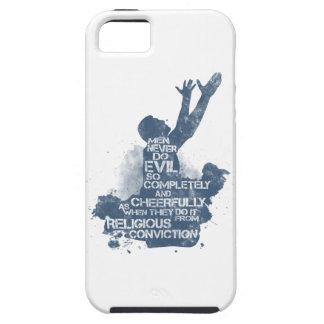 Convicción religiosa iPhone 5 protectores