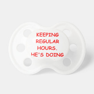 convict BooginHead pacifier