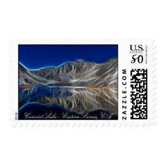 Convict Lake, California USA postage
