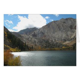 Convict Lake, Eastern Sierras, 2007 Card