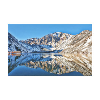 Convict Lake Reflections Gallery Wrapped Canvas