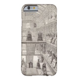 Convicts de la hembra en el trabajo durante la funda barely there iPhone 6