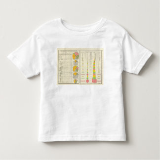 Convicts in Penitentiaries by State T-shirt