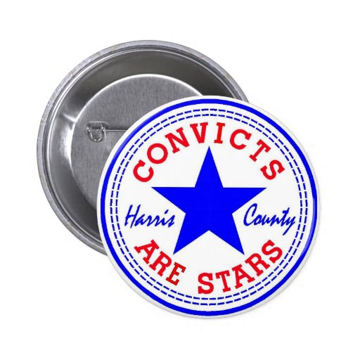 Convicts (Retro) Blue Pin