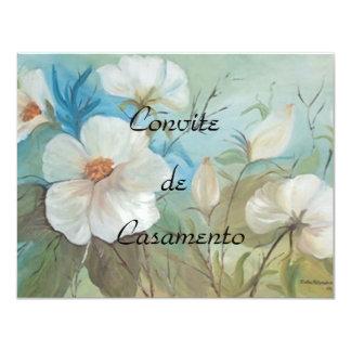 Convite-camélias Card