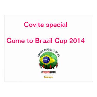 Convite,copa 2014,jogos,brasil,rio de janeiro,camp cartão postal
