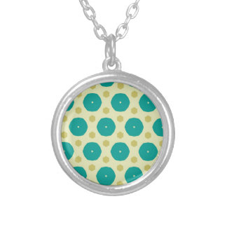 Convivial Lovely Jovial Now Round Pendant Necklace