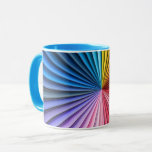 Convoluted Rainbow Mug