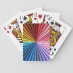 Convoluted Rainbow Playing Cards