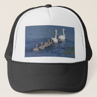 Convoy of Swans Trucker Hat