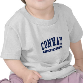 Conway Arkansas College Style tee shirts