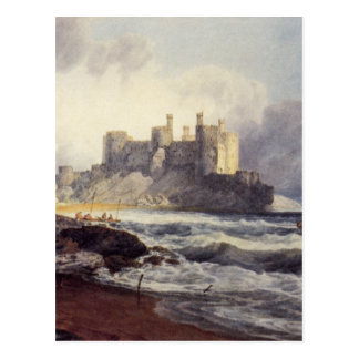 Conway Castle by William Turner Postcard