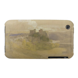 Conway Castle (graphite, w/c and gouache on paper iPhone 3 Case