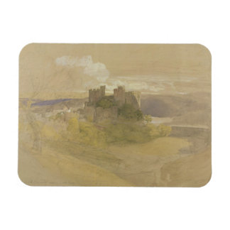 Conway Castle (graphite, w/c and gouache on paper Magnet