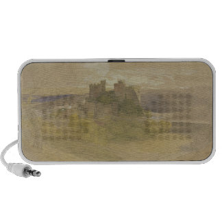 Conway Castle (graphite, w/c and gouache on paper Portable Speaker