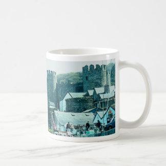 Conway Castle, north Wales, U.K. Classic White Coffee Mug